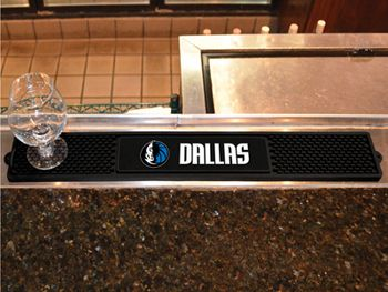 "NBA - Dallas Mavericks Drink Mat 3.25""""x24"""""