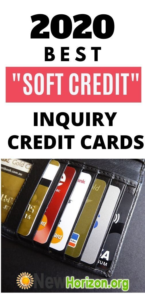 No Inquiry Soft Inquiry Credit Cards Bad Credit Credit Cards