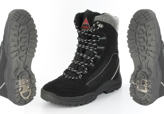 -10 Grad und Lust auf einen Schneespaziergang? Aber nur mit diesem warmen Schnürstiefel von ConWay. ConWay, Herren Stiefel (Boots) – Franco – black; Jetzt in 360° Ansicht, nur auf PLAZA51!
