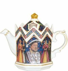 Collectible teapot by James Sadler, fine maker of English teapots.  2 cup capacity  Minister shape, 6