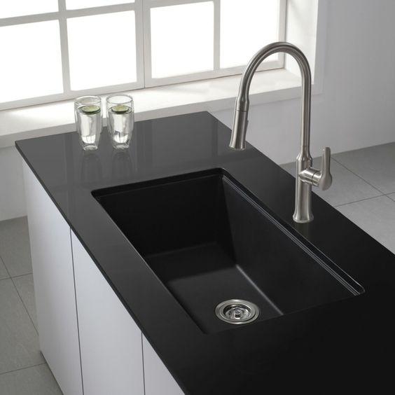 kombinationen von granit waschbecken Esszimmer - Esstisch mit - spülbecken küche granit