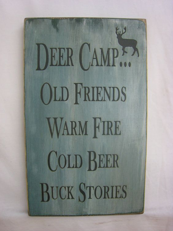 Rustic Country Sign for Your Hunting Friends. by ExpressionsNmore, $19.95: