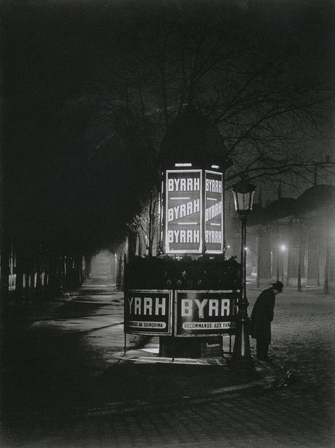 Brassaï,  Pissoir,  Paris, 1932:
