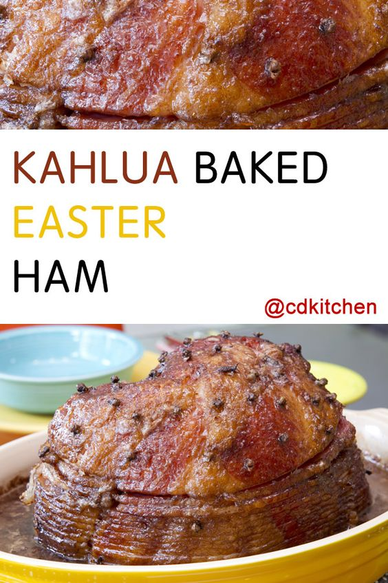 Kahlua Baked Easter Ham | Recipe | Hams, Dry mustard and Brown