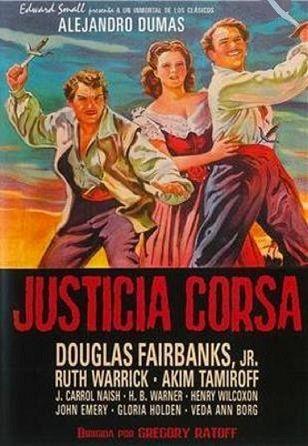 Justicia corsa (1941):