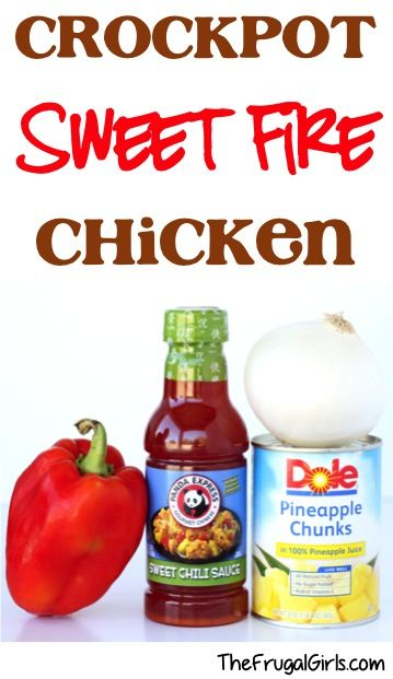 Crockpot Sweet Fire Chicken Recipe! ~ from TheFrugalGirls.com ~ this asian Slow Cooker dinner is so simple and SO delish! #slowcooker #recipes #thefrugalgirls