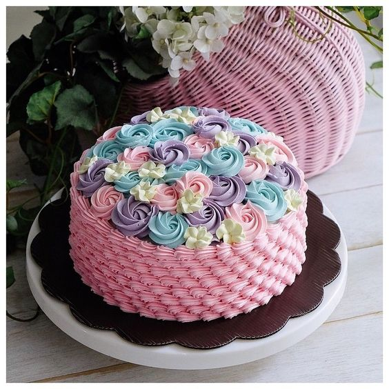 Pinterest the world s catalog of ideas for Cute simple cakes