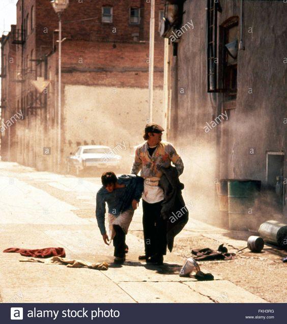 L epouvantail the scarecrow 1973 réal : Jerry Schatzberg Gene Hackman Al Pacino Collection Christophel Stock Photo