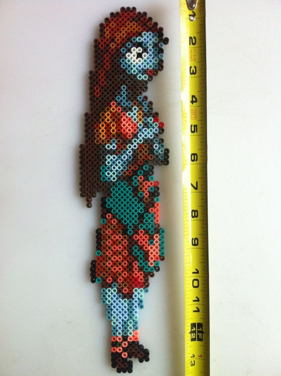 Sally The Nightmare Before Christmas Perler Bead Art by SDKD ...