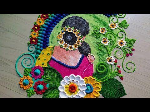 Happy Mother S Day Special Rangoli Satisfying Rangoli Woman S 2020 Youtube Special Rangoli Mothers Day Special Free Hand Rangoli Design January 23, 2020january 23, 2020divazworld. happy mother s day special rangoli