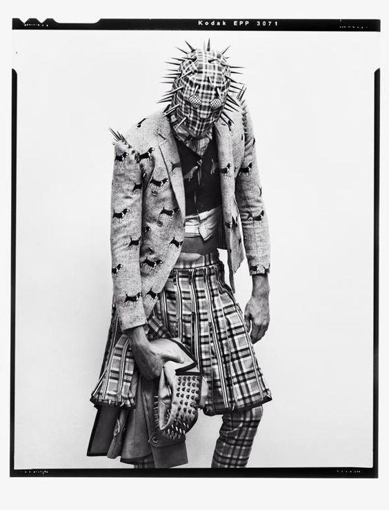 Cameron Handley in Thom Browne by Stefani Pappas