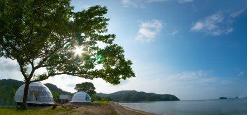 伊勢志摩で海辺に一番近いグランピング グランオーシャン伊勢志摩 7月23日オープン グランピング 風土 火おこし