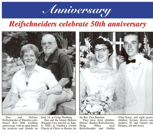 10 Format Of 50th Wedding Anniversary Newspaper Announcement Examples And Review Di 2020