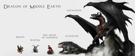 """Dragon of Middle Earth"" by Doomguy26"