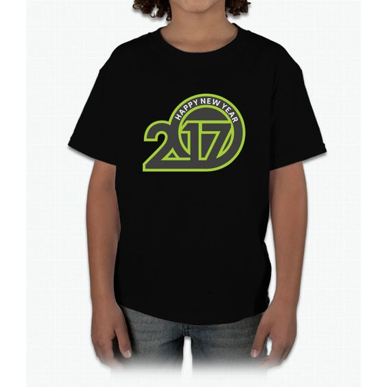 Happy New Year 2017 Young T-Shirt