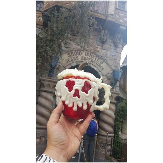 Poison Apple Mug Makes Its Debut at Disneyland for Halloween Time