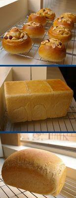 bread and original yeast: dry yeast