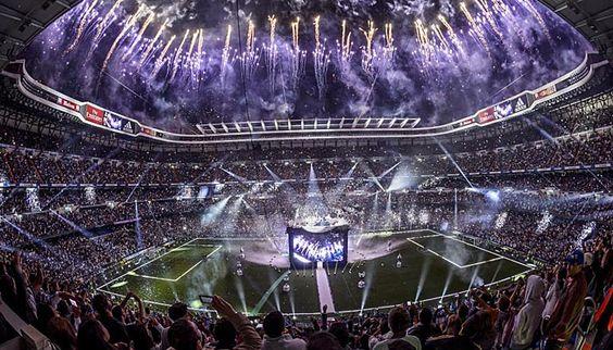 Una fiesta de leyenda! #HalaMadrid Hasta el Final Vamos Real!