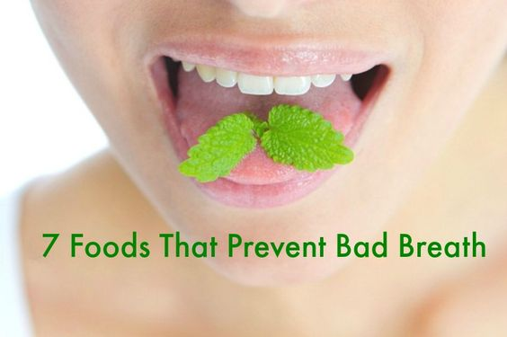 7 random foods that prevent bad breath