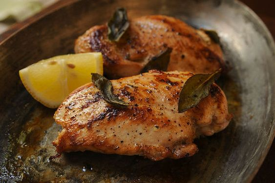 ... Herbed Chicken Cutlets with Panko & Parmesan, Chicken Breasts Grilled