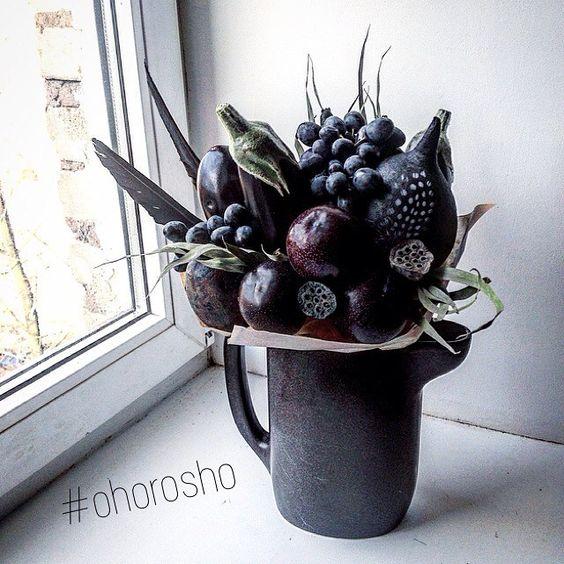 У каждой женщины должен быть маленький черный букет ✨ #ohorosho: