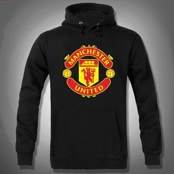 E37. Manchester United Pullover Hoodie Jacket