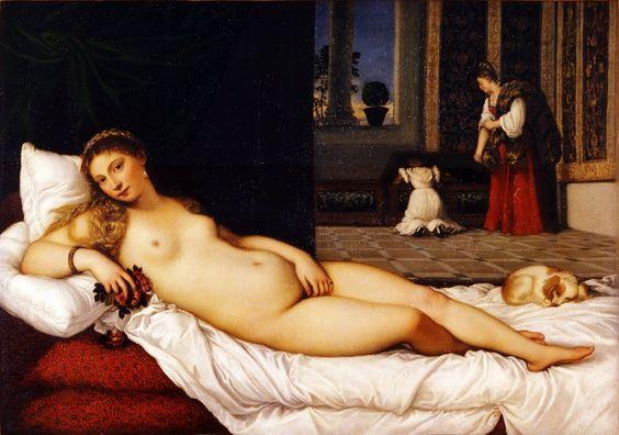 Tiziano - Venere di Urbino