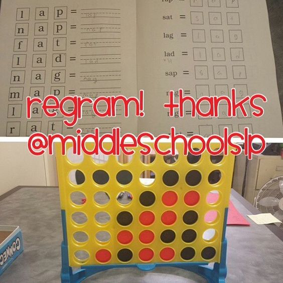 Thank you @middleschoolslp for permission to regram!! I have a 6th grade student who needs support with decoding/encoding skills. I borrowed a Wilson book from our school's reading specialist and will be working from it during our sessions. - Like our instagram posts? Please follow us there at instagram.com/pediastaff - - click on pin for more!