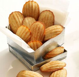 Honey-Spiced Madeleines - Fine Cooking Recipes, Techniques and Tips