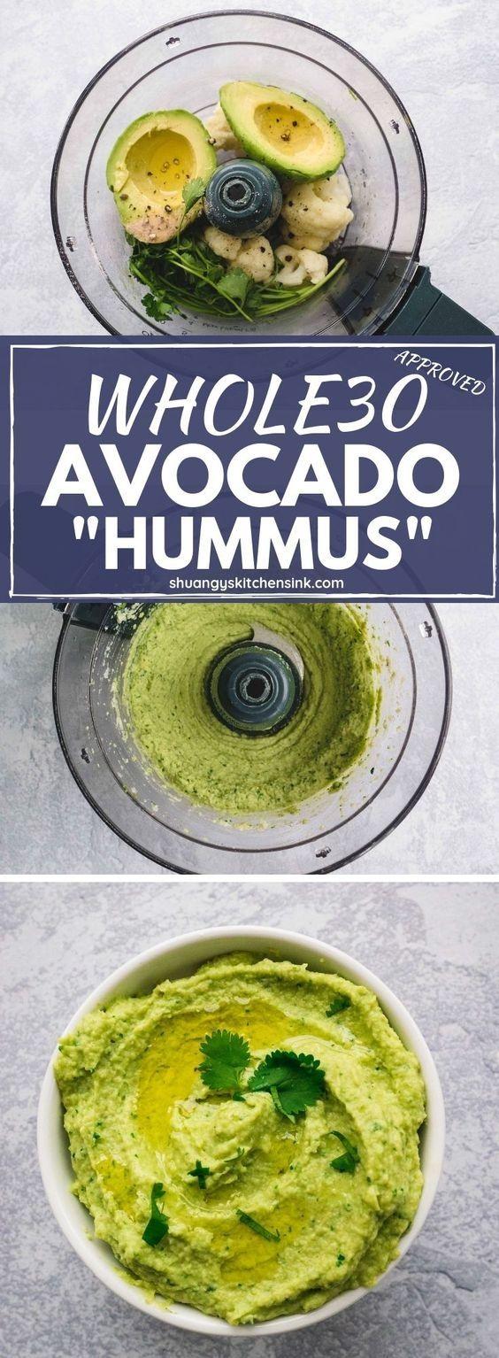 Paleo Avocado Hummus