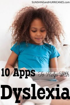 Is your child or grandchild struggling with Dyslexia? This roundup of apps can help a dyslexic hone vital skills to improve spelling, reading, and more. Using technology, alongside of professional therapies, is an excellent opportunity to expand the learning for kids, teens, and adults dealing with dyslexia. Apps To Help With Dyslexia