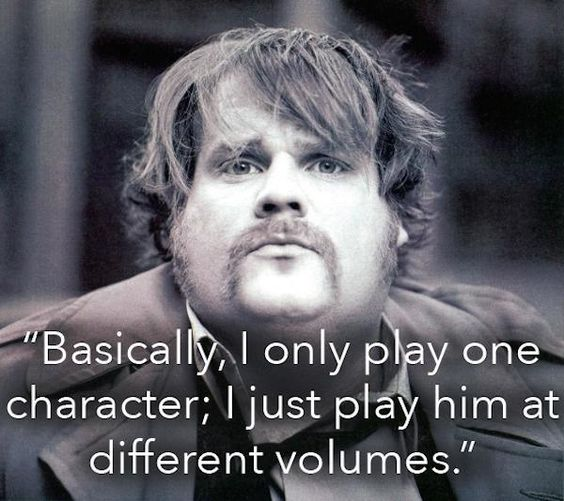 Chris Farley was a man of pure comedy and wisdom (17 Photos & Video)