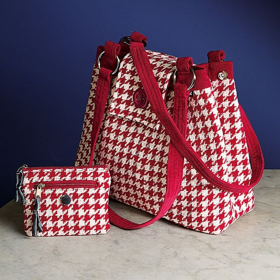 Houndstooth Accessories | Culture Vulture Direct