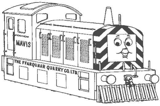 Belle Locomotora Amiga De Thomas Para Colorear Pintar E Imprimir Train Coloring Pages Coloring Pages Thomas And Friends