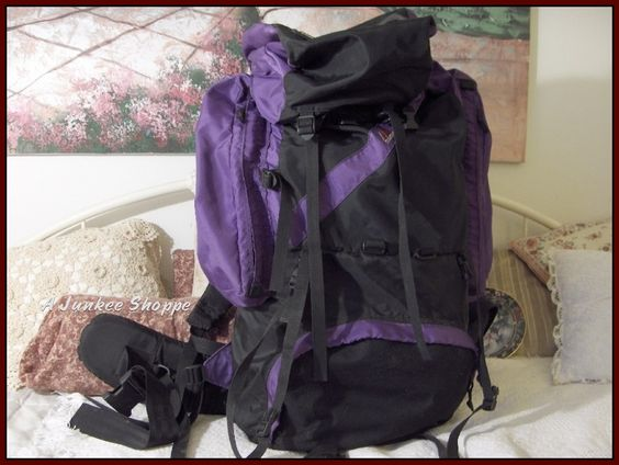 Timbertop Internal Frame Camping And Hiking Backpack    http://ajunkeeshoppe.blogspot.com/