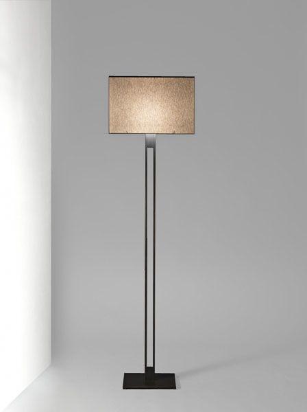 Amita Floor Lamp Polished Chrome Decorators Notebook