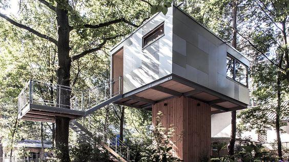 Architectual Trend: Tree-House / Trending: Baumhäuser als Erholungsort | Designsetter