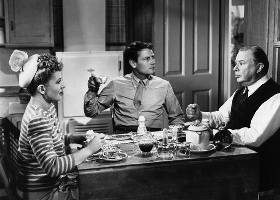 1943: Jean Arthur, Charles Coburn and Joel McCrea in The More the Merrier