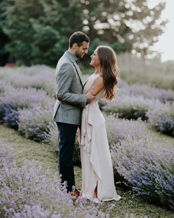 28 Beautiful Engagement Photo Ideas #engagement #engagementphotos #weddingphotos #2019weddings | Martha Stewart Weddings - 28 Beautiful Engagement Photo Ideas