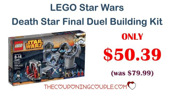 BEST PRICE! LEGO Star Wars Death Star Final Duel Building Kit - Only ...
