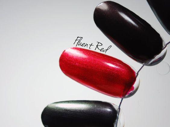Kiko Dark Heroine LE Laser Nail Lacquer - Fluent Red