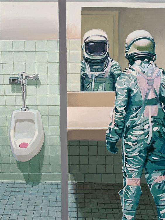 Men's Room by Scott Listfield. $35