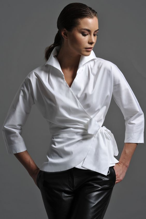 The Shirt Company: the perfect white shirt for women | White ...