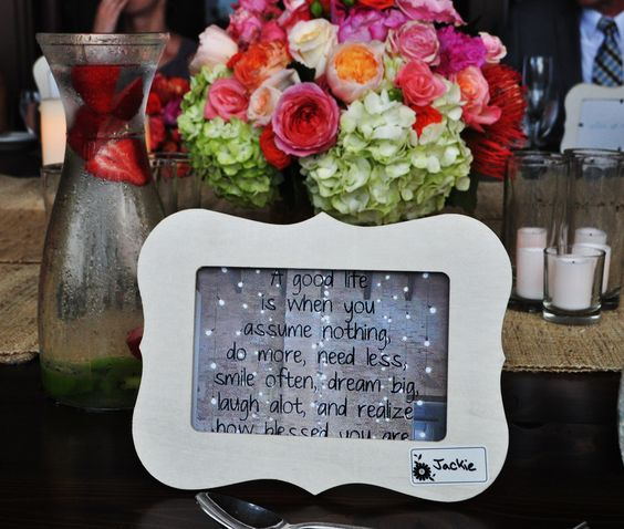 Live it! Words of wisdom and party favor from a wedding on Kauai