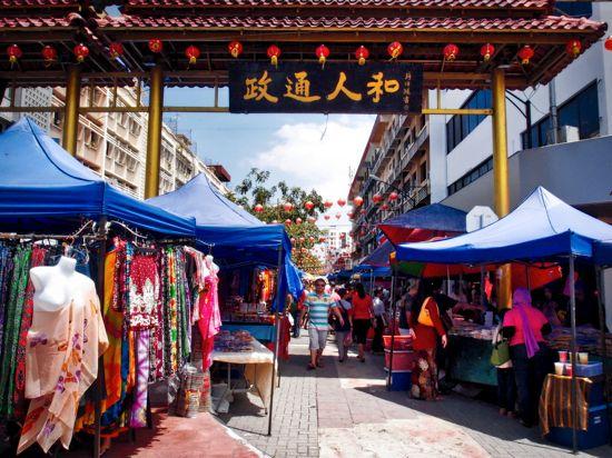 Gaya Street Kotakinabalu: