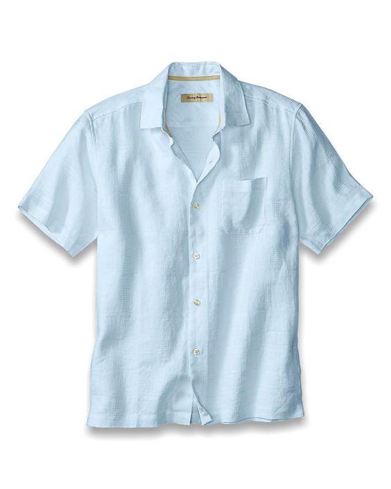 Island Modern Fit TB Monte Carlo Camp Shirt