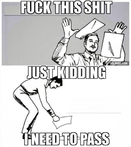 Writefully So...: Expectation v. Reality - The Curious Case of The Part-Time Law Student #1Lhell