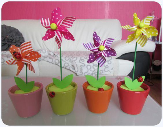 Tuto moulins vent jardin bricolages d co pinterest for Moulin a vent decoration jardin