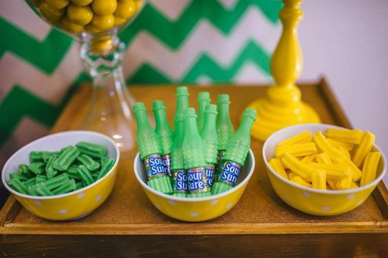 Neon Geo Stache Bash Baby Shower Filled with Really Cute Ideas via Kara's Party Ideas   KarasPartyIdeas.com #MustacheParty #Party #Ideas #Supplies (11)