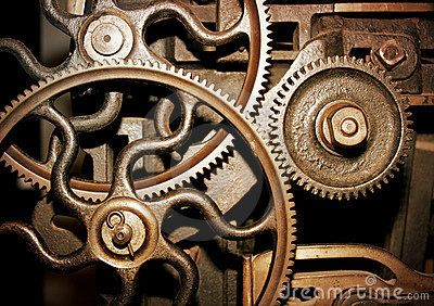 Cogs in a machine by Ben Mcleish, via Dreamstime